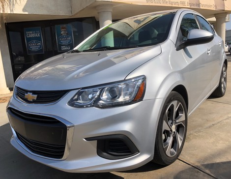 2017 CHEVROLET Sonic Premier Turbo