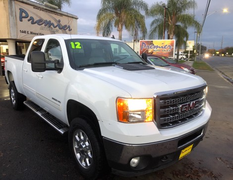 2012 GMC Sierra 2500 HD 4x4