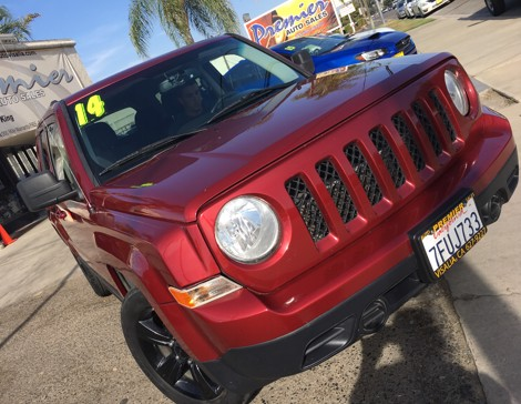 2014 JEEP Patriot Altitude Edit