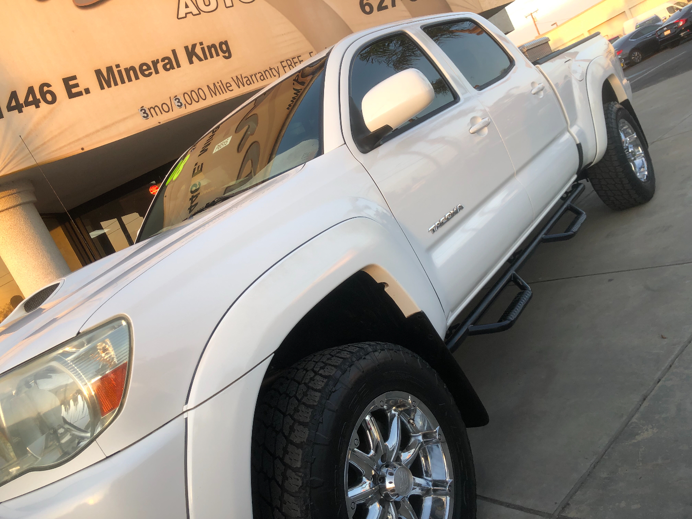 2008 TOYOTA Tacoma 4x4 SR5 Long Bed