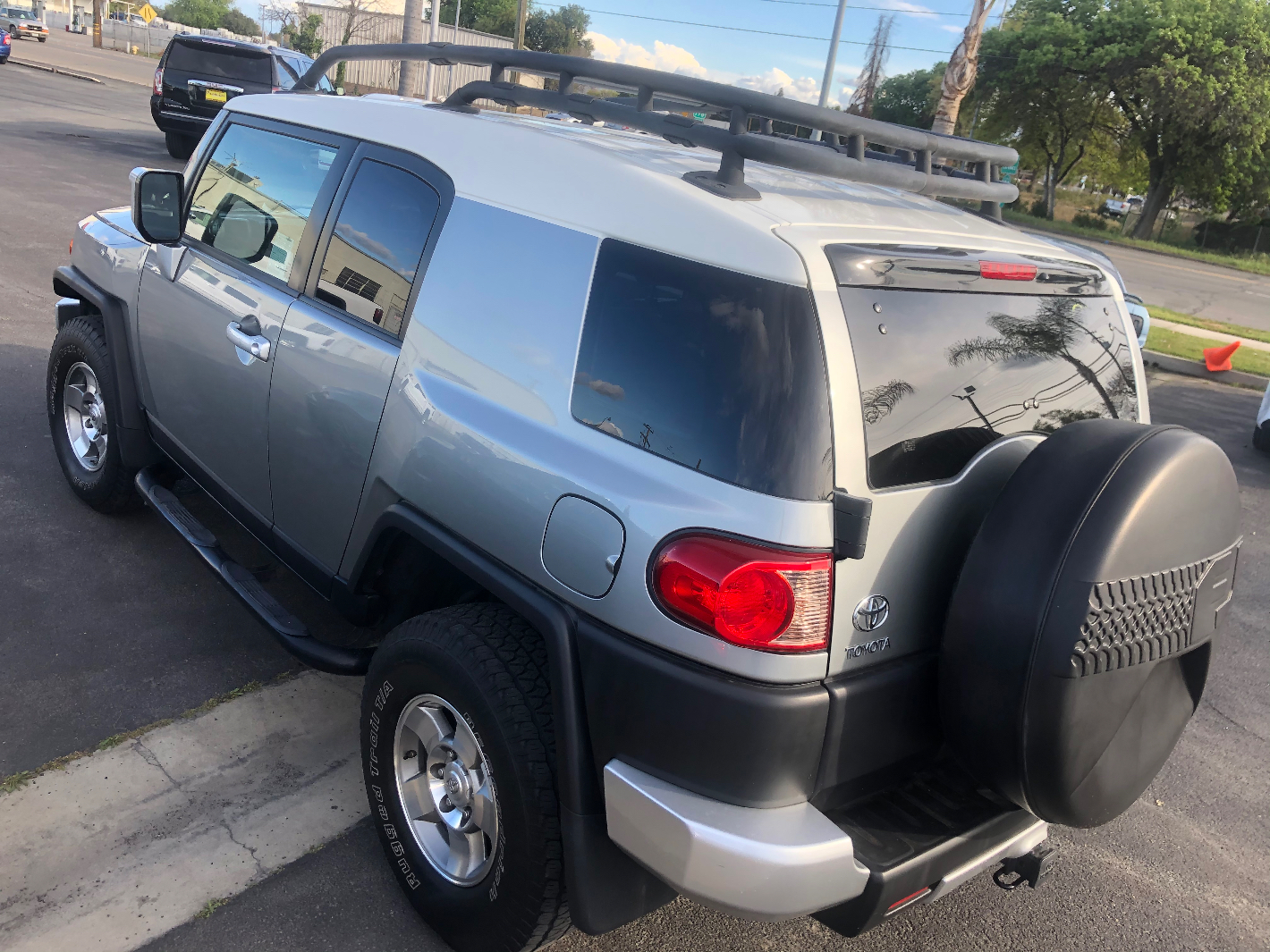 2010 TOYOTA FJ Cruiser OFF Road